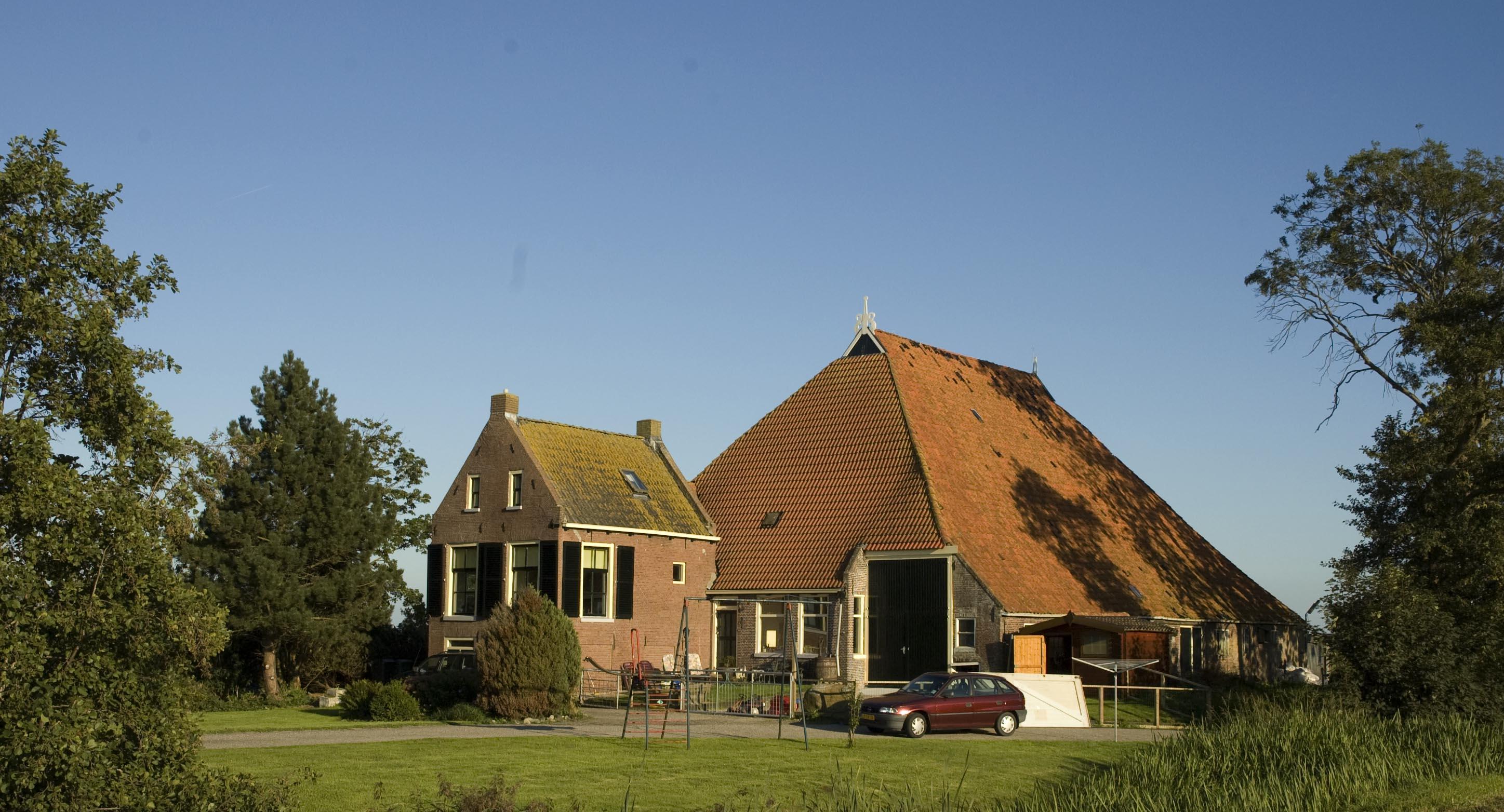 Scene From The Dutch Countryside A Farm Eats Shoots 39 N
