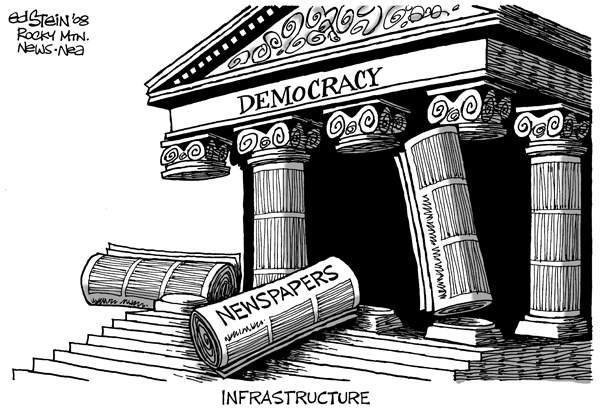 newspaper too big to fall