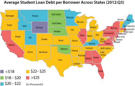 BLOG Debt by state