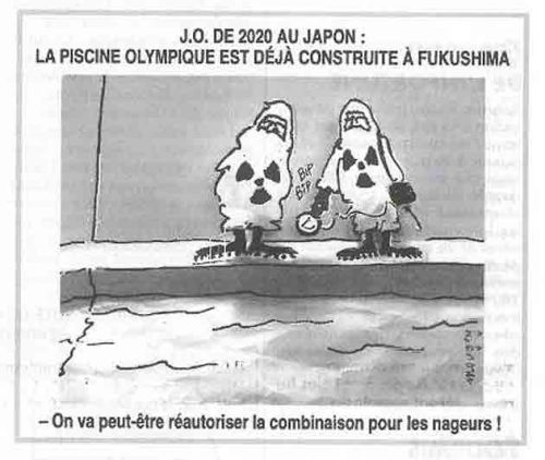 """There is already a pool in Fukushima for the Olympics. We will perhaps reauthorize its use for swimmers."""