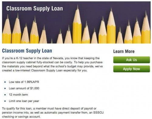 BLOG Teacher loans