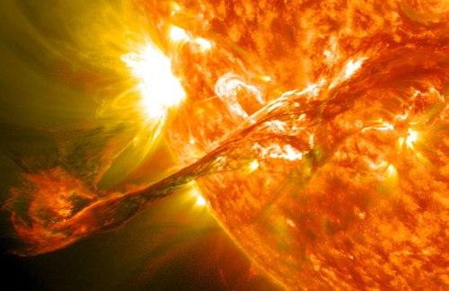 BLOG Solar flare