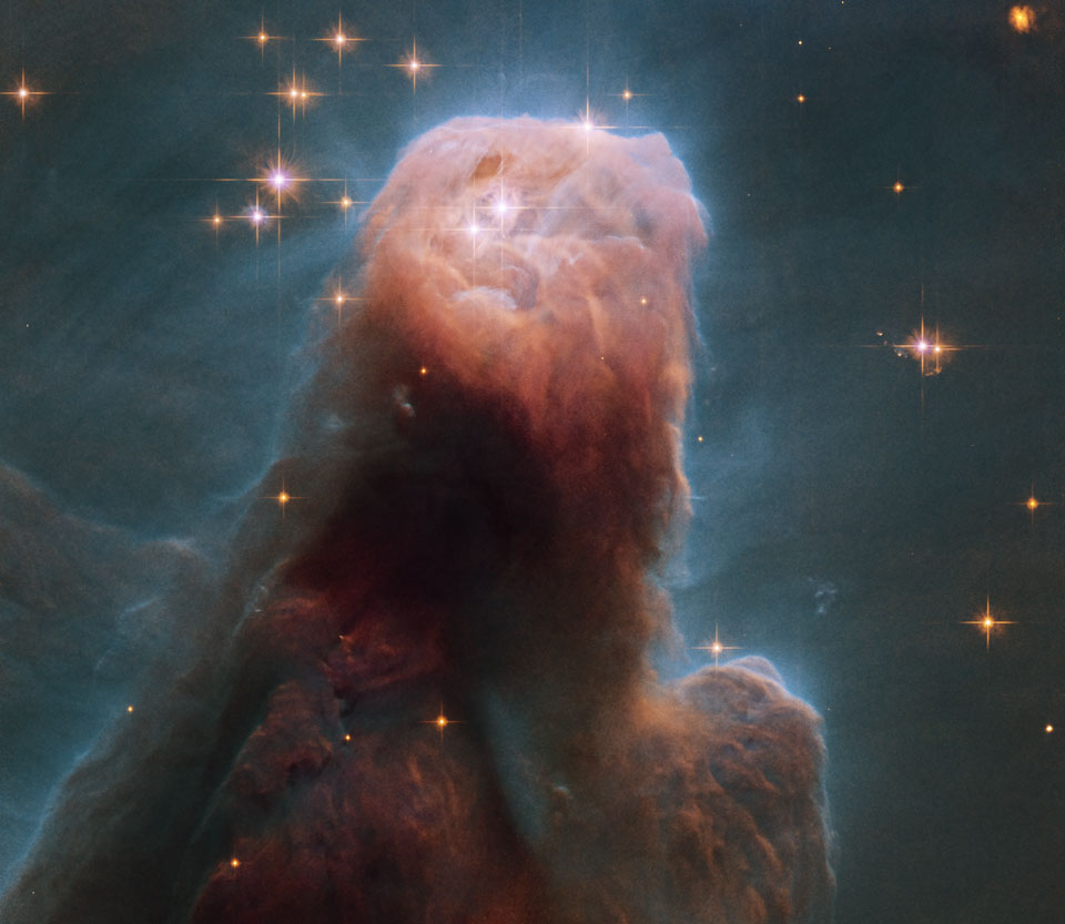 From the Hubble telescope: The Cone Nebula | eats shoots ...