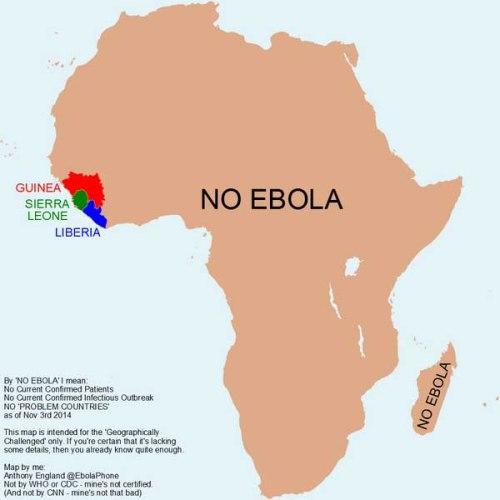 BLOG Ebola not