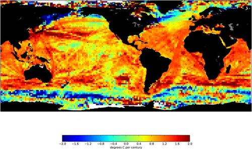 Changes in Sea-Surface Temperature Since 1900