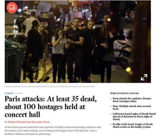 BLOG Paris LA Times