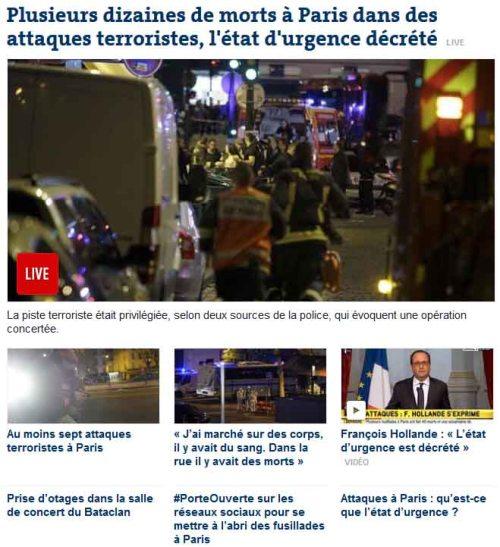 BLOG Paris Le Monde