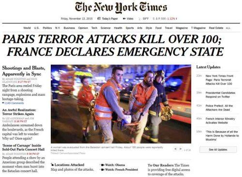 BLOG Paris NYT 2