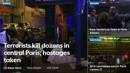 BLOG Paris USA Today