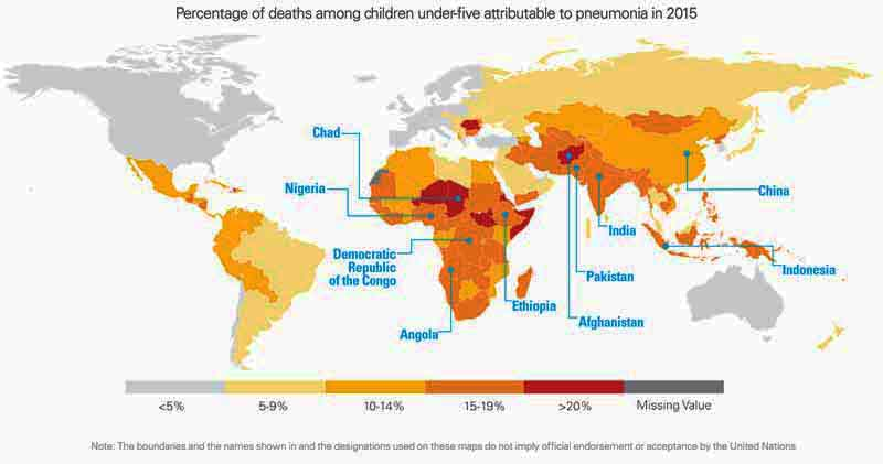 Map Of The Day Pneumonia A Child Killer Eats Shoots N Leaves - Pneumonia us map