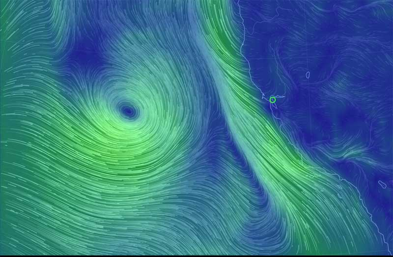 The Storm About To Hit San Francisco Bay Eats Shoots N Leaves