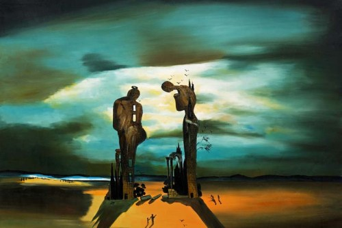 Salvador Dalí, Archaeological Reminiscence of Millet's Angelus, 1933-5