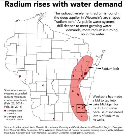 Wisconsins Water Contaminated By Radium Eats Shoots N Leaves