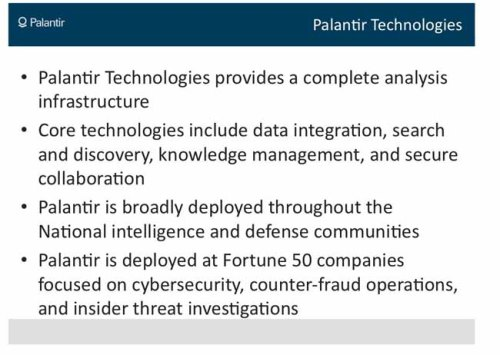 From Palantir's proposal to use cybertechology to destroy Wikileaks.