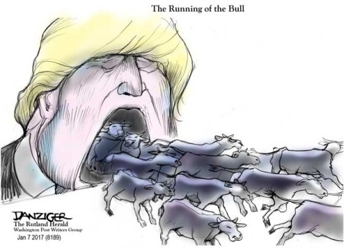 The Runnign of the Bull